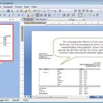 Rechnungs-Report wird in LabMin aufgerufen